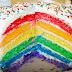 Cara Membuat Kue Ulang Tahun Bertemakan Pelangi