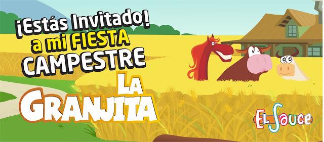 Invitacion digital paquetes fiesta cumpleaños Bogota