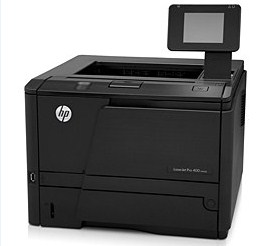 n printer device model of qualified professionals inwards the large capacity together with value HP Laserjet Pro 400 M401N Driver