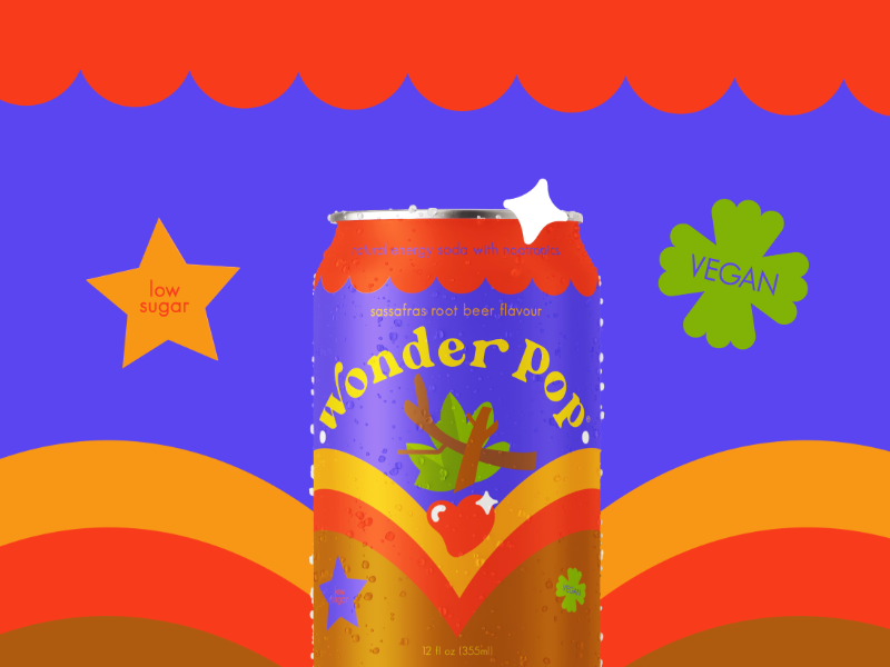 Wonder Pop Soda