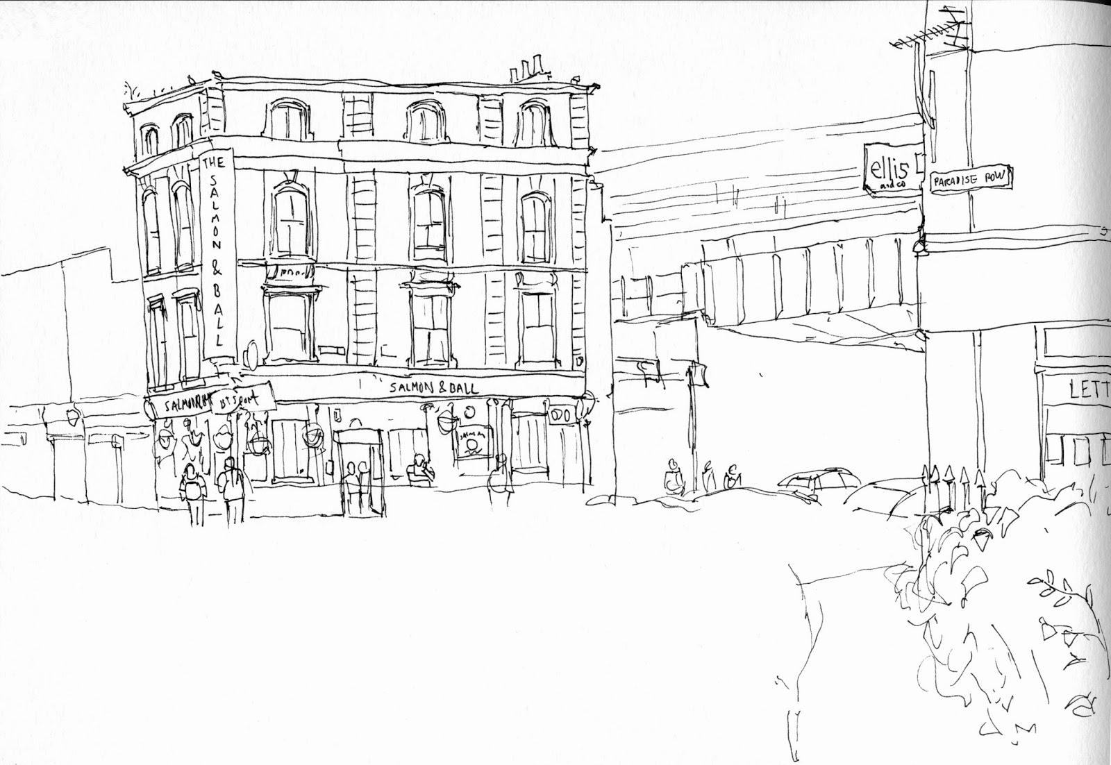 memo: Urban Sketchers East London Sketchcrawl