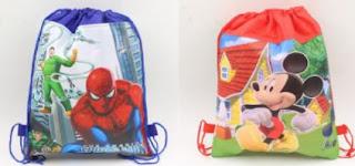Cartoon Printed Haversack Bags