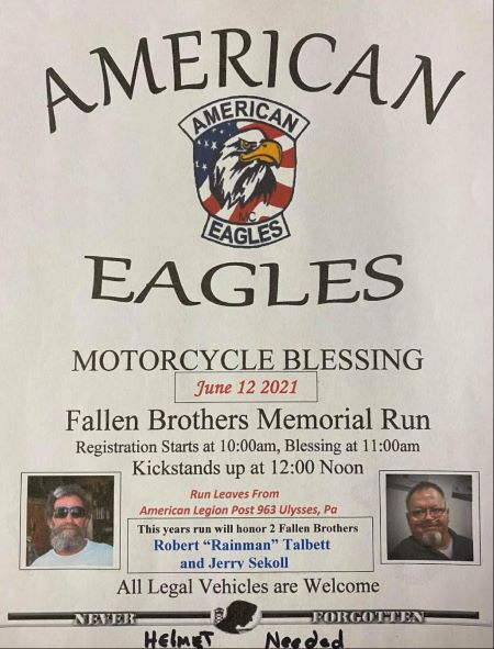 6-12 American Eagles Fallen Brothers Run