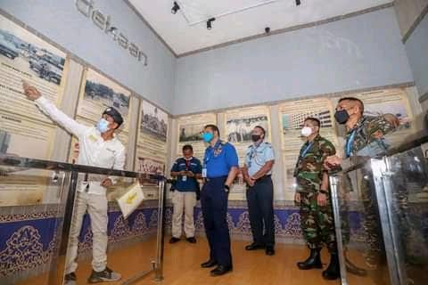 23 Atase Pertahanan Negara Sahabat Kunjungi Museum Raja Ali Haji Batam