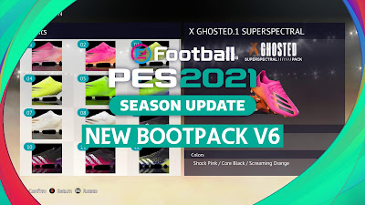 PES 2021 New Boots Pack V6 by Hoppus 117