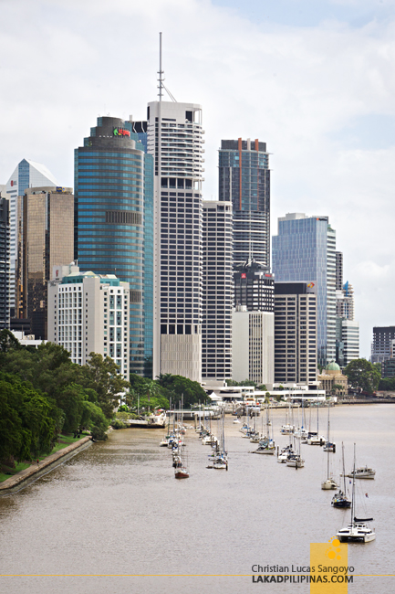 Brisbane Day Tour Kangaroo Point Lookout