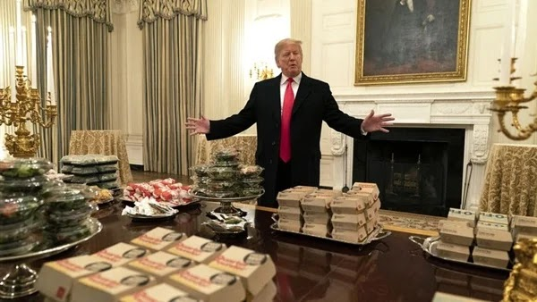 A former Donald Trump bodyguard claims he owed him $ 130 to order meals from McDonald's that he paid for in 2008.