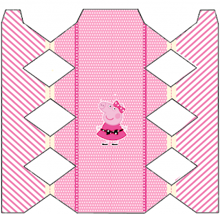 Cajas de  Miss Peppa Pig  para imprimir gratis.
