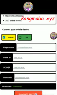 APK Injector Diamond Mobile Legends Patch Terbaru