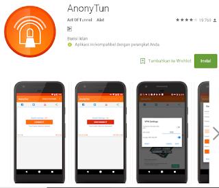Pengaturan Anonytun Untuk Paket Maxstream kartu Telkomsel