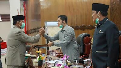DPRD Tanjab Barat Adakan Dua Rapat Paripurna di Hadiri Wabup