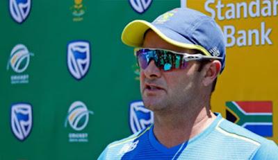 South African coach Boucher