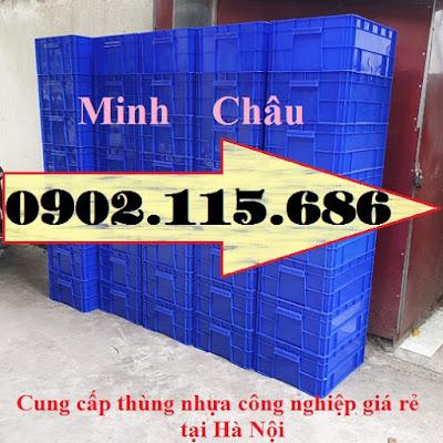 TT6 - Hop nhua co khi, thung nhua co khi, thung nhua cong nghiep, hop nhua cong nghiep, hộp nhựa trữ đông,
