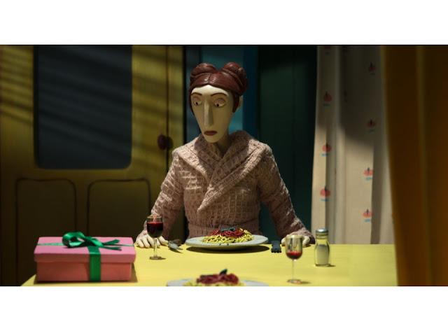 fotograma 3 de la película de stop motion La Femme canon de Albertine