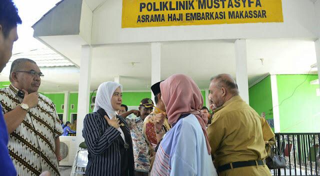 Pastikan Penyelenggaraan Kesehatan Haji, Aliyah Kunjungi Asrama Haji