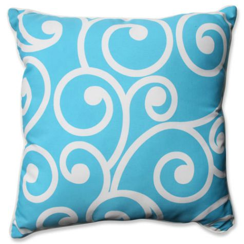Swirl Wave Pillow
