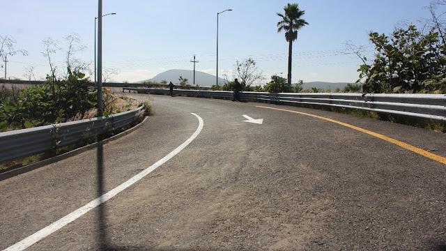 Concluye Gobierno de Atlixco rehabilitación del desgaje provocado en el Arco Sur