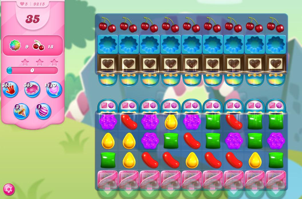 Candy Crush Saga level 9215