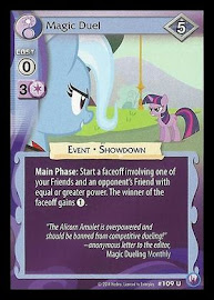 My Little Pony Magic Duel Canterlot Nights CCG Card