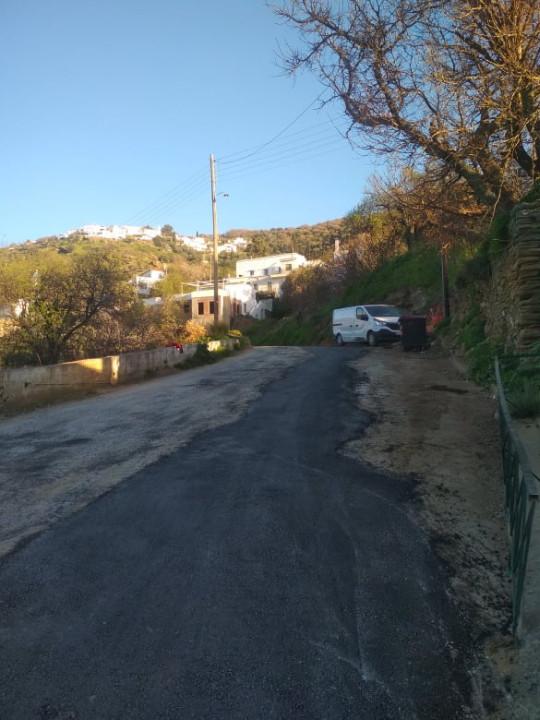 Αποχέτευση Λειβαδίων - σύνδεση με βιολογικό: Αποκατάσταση δρόμου