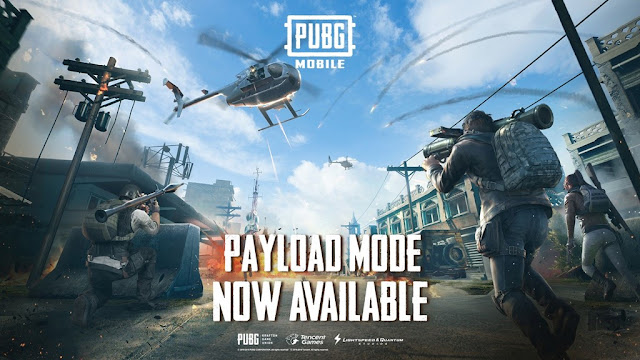 PUBG MOBILE UNVEILS NEW PAYLOAD MODE