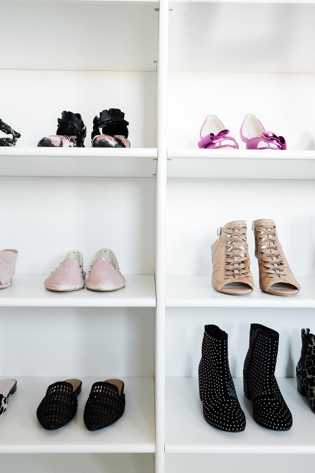 Shoe Shelf, Master closet Shoes