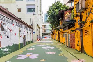 Bunte Straßen, Bukit Bintang in Malaysia www.WELTREISE.tv