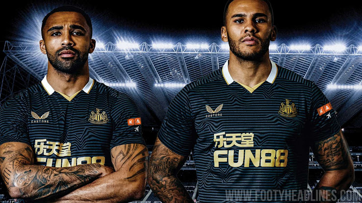 Castore Newcastle United 21-22 Away Kit Released - Footy Headlines