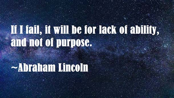 Abraham Lincoln Quotes About Dark