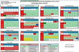 Download Kalender Pendidikan Tahun Ajaran 2015/2016