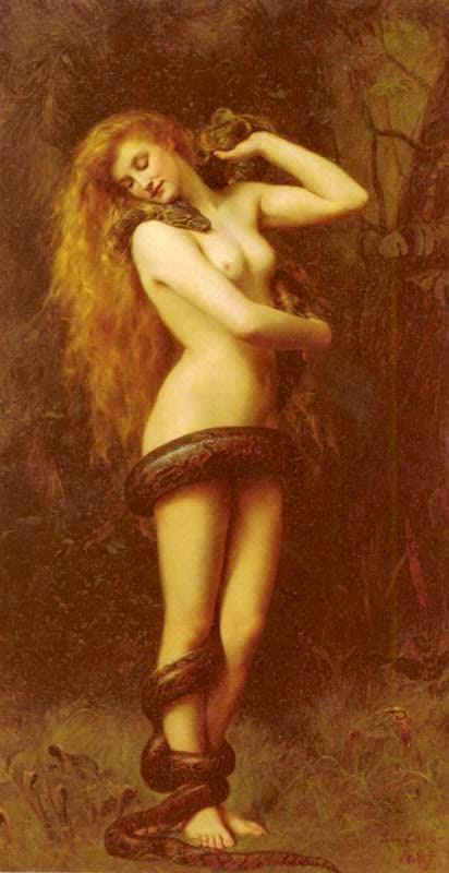 Lilith - Jhon Collier e suas pinturas belíssismas | Neoclassicismo