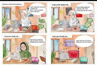 Komik karya siswa gree one