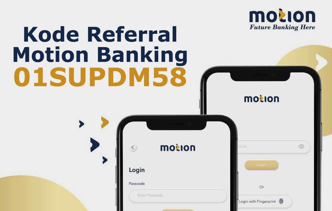 kode referral motion banking