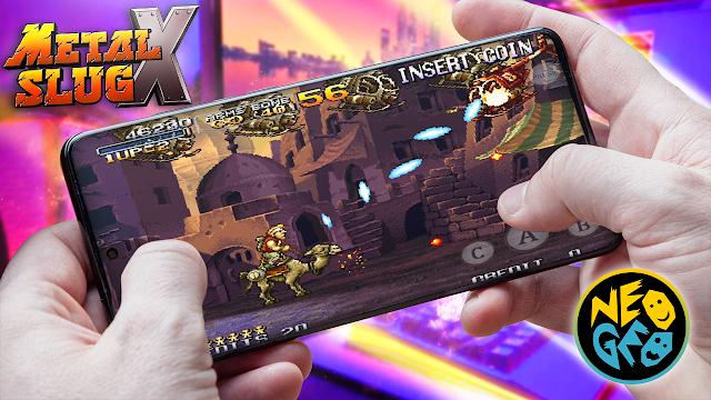 Metal Slug X Para Teléfonos Android (ROM NEOGEO)