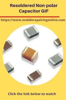 Soldering Polarized non polar capacitors
