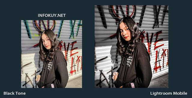 Tutorial Edit Foto Black Tone Lightroom