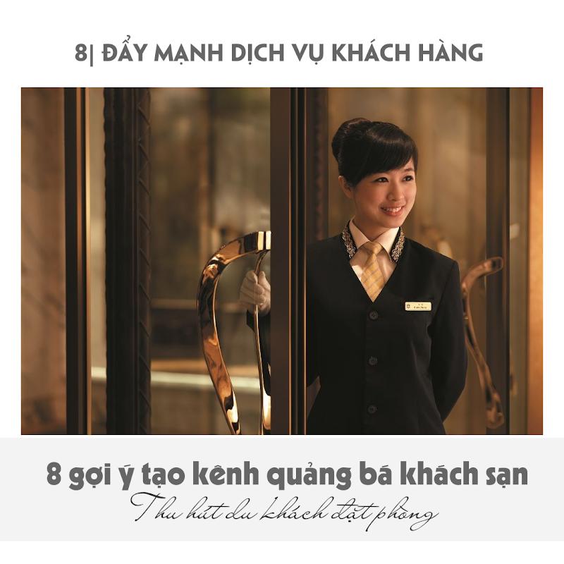 8 gợi ý quảng bá khách sạn - Dịch vụ khách hàng
