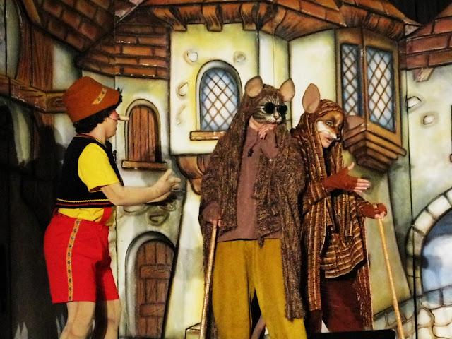 Παιδική θεατρική παράσταση με τον Πινόκιο στο Άργος