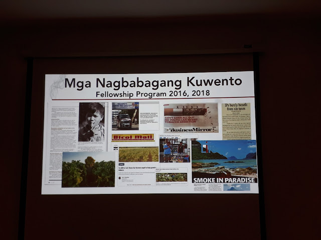 ga Nagbabagang Kuwento  by Yas Mapua Tan of Probe
