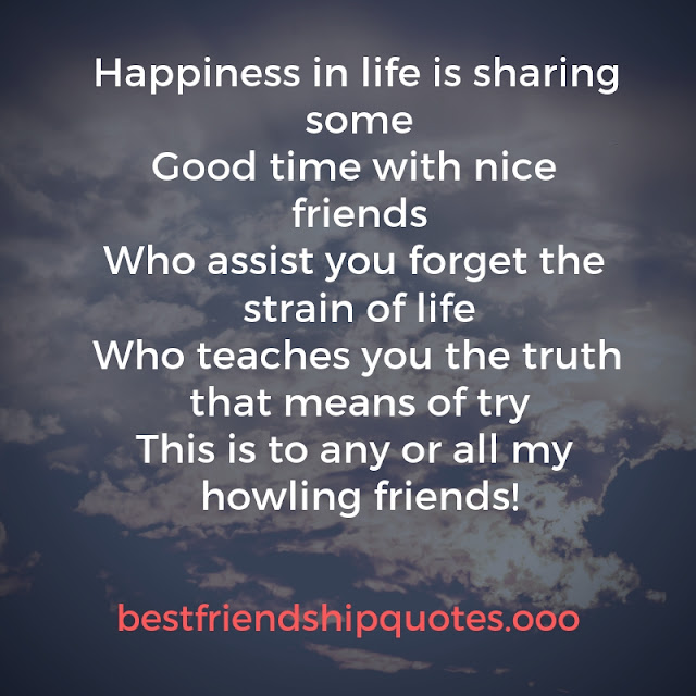 Friendship quotes with love