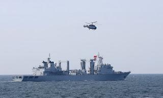 gemeinsame Militärübung Russlands und China in der Ostsee