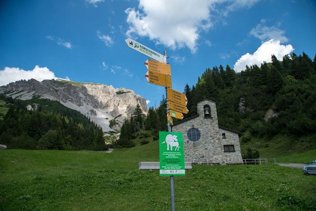 Fürstin-Gina-Weg  Augstenberg und Pfälzerhütte  Wandern in Liechtenstein 04