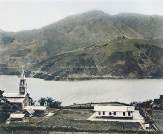gereja di parapat danau toba dekat pematang siantar