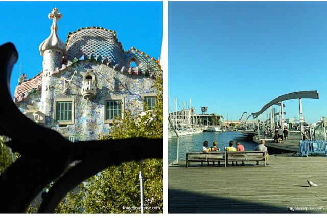Barcelona: Casa Batllò e Port Vell