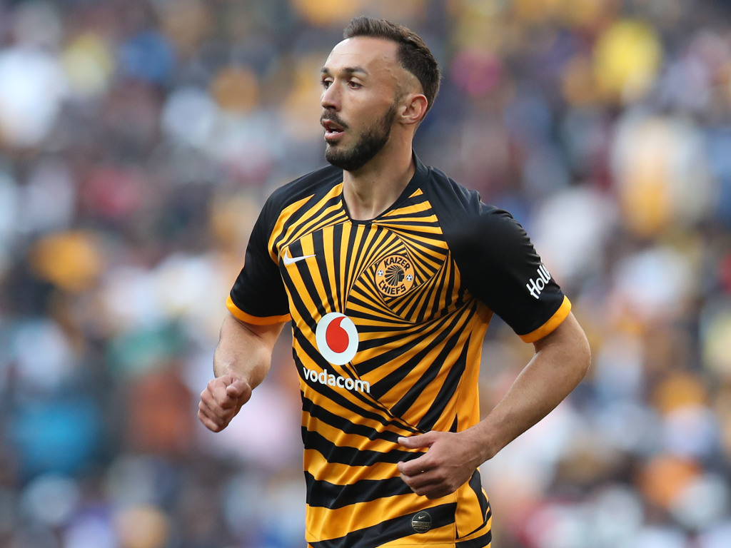 New Kaizer Chiefs striker Samir Nurkovic