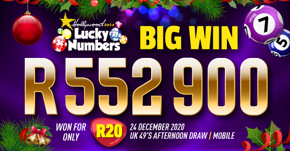R552 900 Big Win
