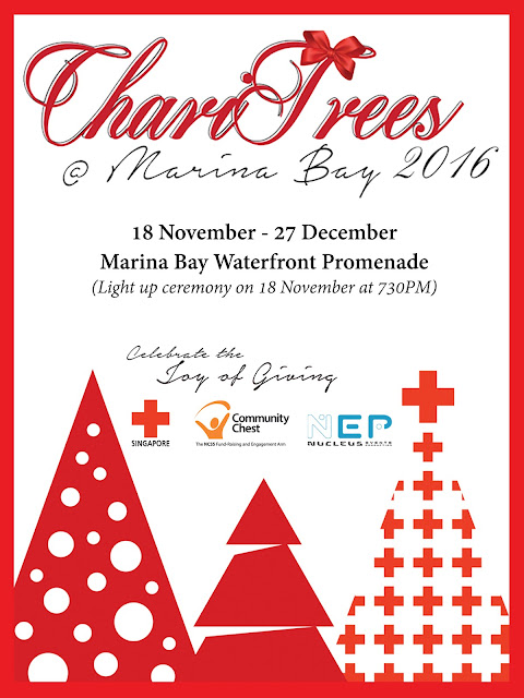 The Annual Charitrees At Marina Bay Is A Unique And Exclusive Fundraising Initiative For Singapore To Show Our Support For The Less Fortunate During The