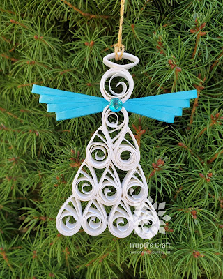 Paper Quilling Angel