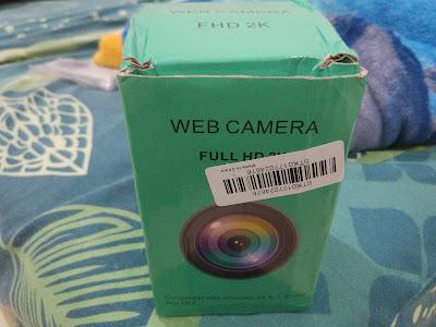Tampilan Depan Kotak Kemasan Generic Autofocus Webcam 2K Full HD