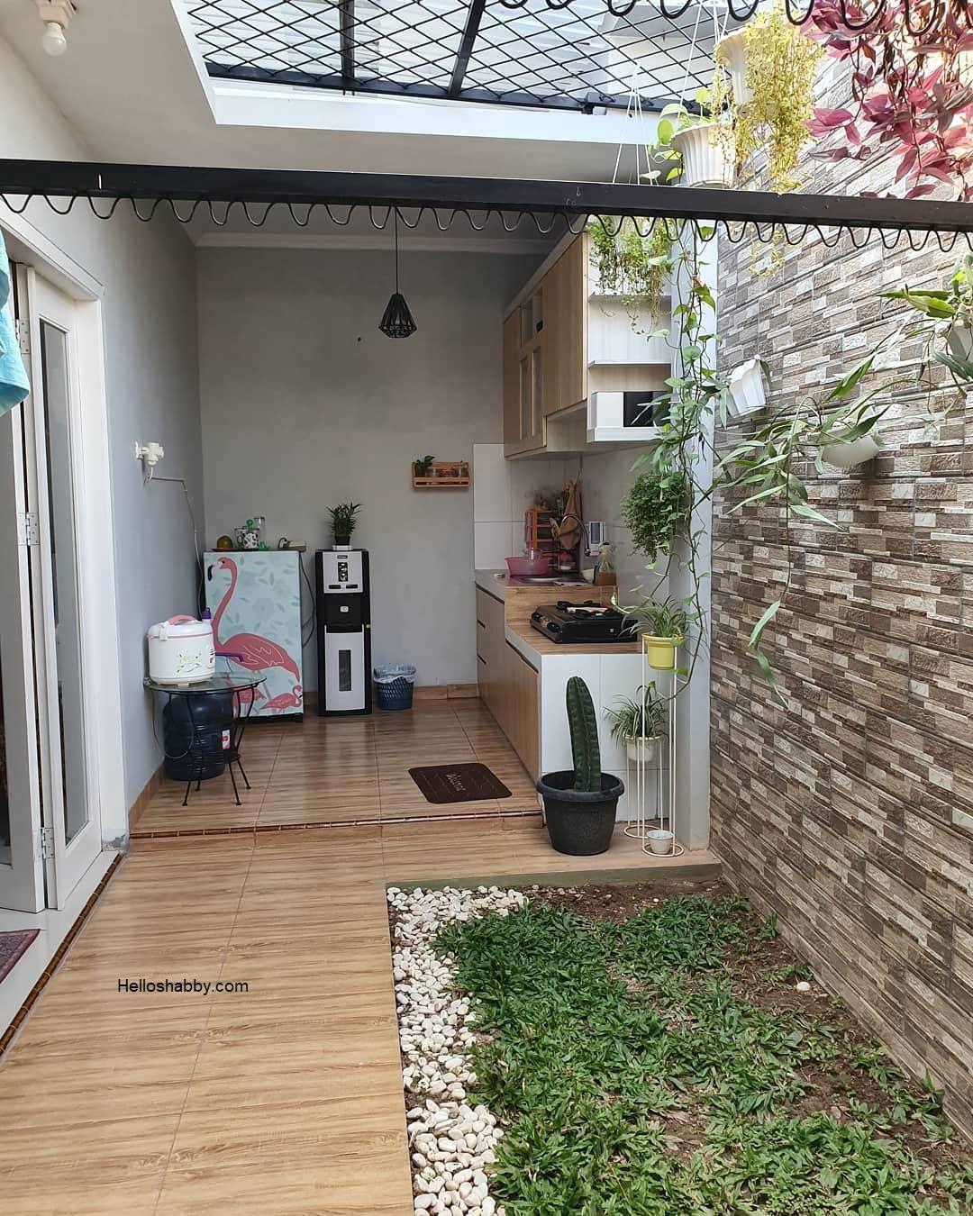 Biar Gak Sumpek Coba Deh Terapkan 10 Desain Dapur Terbuka Belakang Rumah Helloshabby Com Interior And Exterior Solutions Dapur menyatu dengan taman belakang